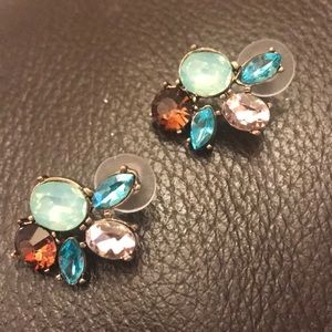 Jewelry - Brand new  different colored stone earrings